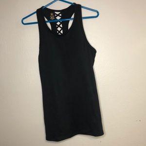 Gaiam Black Yoga Top